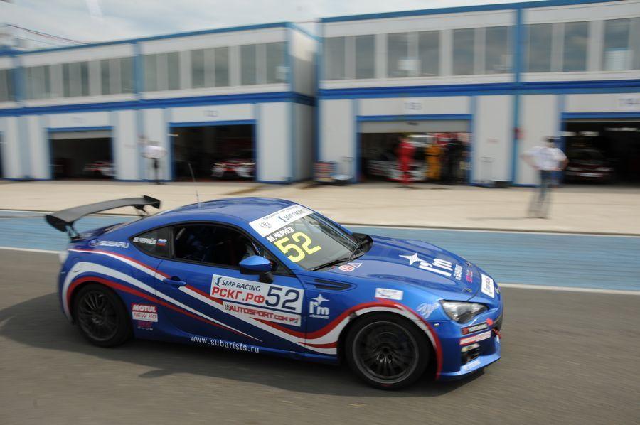 Команда Subaru на пятом этапе РСКГ